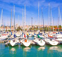 yacht club and the monastery by terezadelpilar~ art & architecture