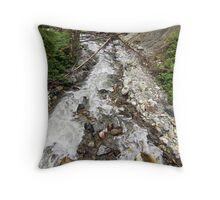 River Into Darkness Throw Pillow