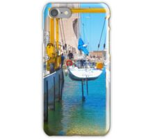 boat on water iPhone Case/Skin