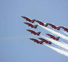 Red Arrows by Leanne Jones