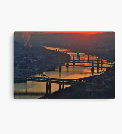 Pittsburgh Revisited V HDR Canvas Print