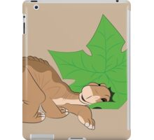 Littlefoot and his tree star! iPad Case/Skin