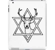 The buck of wisdom iPad Case/Skin