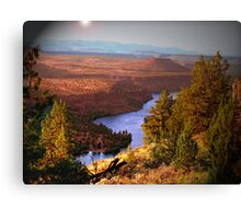 Last Look of a Timeless View Canvas Print