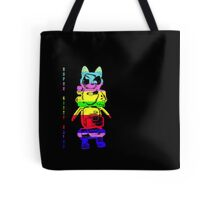 Super Rainbow Kitty ...  Tote Bag