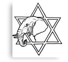 The elephant of wisdom Canvas Print