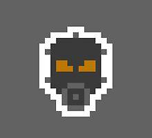 Retro Psycho Mantis by daveypixel