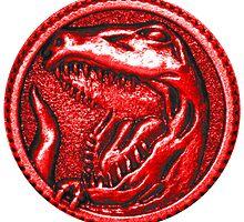 Red Ranger Power Coin by Ak00Exia
