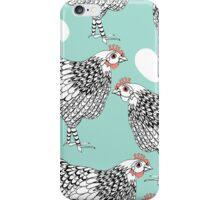 The chicken and the egg iPhone Case/Skin