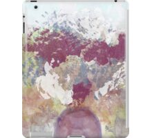 Floral Bouquet Design in Rose, Gray, and White iPad Case/Skin
