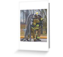 Carrying the Weight Greeting Card