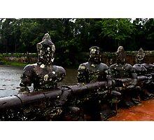 Angkor Thom Bridge - Angkor, Cambodia. Photographic Print