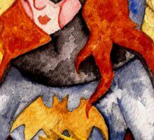 Gotham Babe : B Sticker