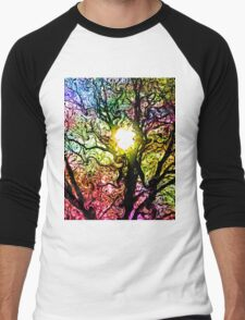 Psychedelic Dreams Men's Baseball ¾ T-Shirt