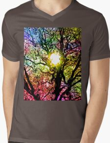 Psychedelic Dreams Mens V-Neck T-Shirt