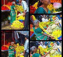 She sells flowers for a living by Neha  Gupta