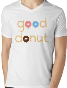 Good Donut Mens V-Neck T-Shirt