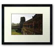 Sunrise on Angkor Wat III - Angkor, Cambodia. Framed Print