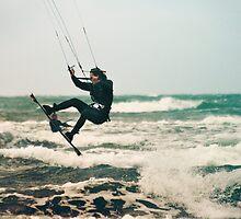 Kite Surfing by Rikko