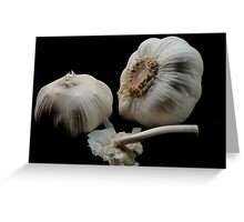 I like Garlic Greeting Card
