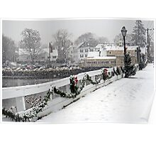Christmas in Kennebunkport, ME Poster