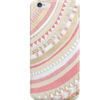 Coral + Gold Tribal iPhone Case/Skin