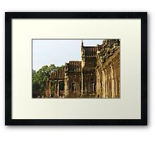 Sunrise on Angkor Wat V - Angkor, Cambodia. Framed Print