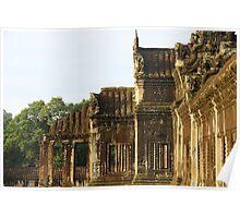 Sunrise on Angkor Wat V - Angkor, Cambodia. Poster