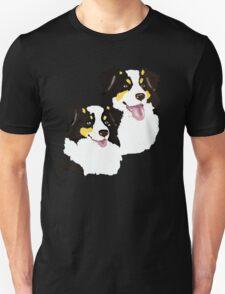 """Black Tri Aussie """"Pair to draw to"""" Unisex T-Shirt"""