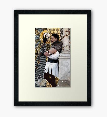 Dorian Pavus Tarot Framed Print