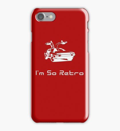 I'm So Retro - 80s Computer Games T-Shirt iPhone Case/Skin