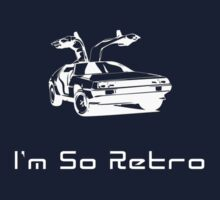 I'm So Retro - 80s Computer Game - Back to Future T-Shirt Baby Tee