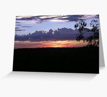 Kakadu Sunset Greeting Card