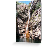 Motorcar Falls, Kakadu Greeting Card