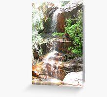 Kakadu Waterfall Greeting Card