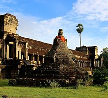 Sunrise on Angkor Wat VII - Angkor, Cambodia. by Tiffany Lenoir