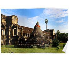 Sunrise on Angkor Wat VII - Angkor, Cambodia. Poster