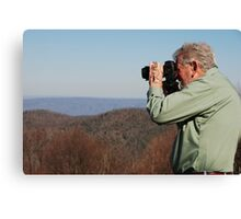 Keen photographer--Shenandoah Valley Canvas Print