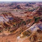 Anna Creek Painted Hills, Outback South Australia by haymelter