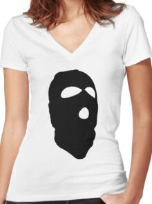 Criminal Concept 2 | One Women's Fitted V-Neck T-Shirt