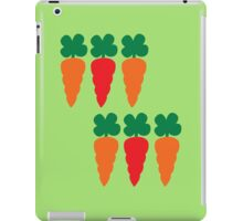 six Carrots cute! iPad Case/Skin