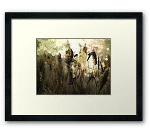 Twilight Flight Framed Print