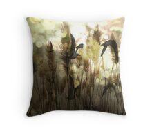 Twilight Flight Throw Pillow