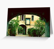 Arquitectura de Milan 01 Greeting Card