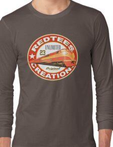 redtees express train Long Sleeve T-Shirt