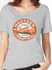 redtees express train Women's Relaxed Fit T-Shirt