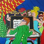 Piano Man SOLD by Deborah Glasgow