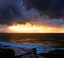 sunrise on a stormy morning by Juilee  Pryor