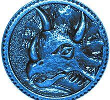 Blue Ranger Power Coin by Ak00Exia