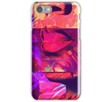 Watercolour Abstract Portrait iPhone Case/Skin